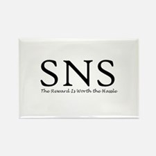 SNS Rectangle Magnet