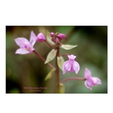 Hawaiian Orchid Postcards (Package of 8)