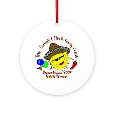 Cornell & Clark Family Cruise - Ornament (Round)