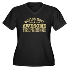 World's Most Awesome Nurse Practitioner Women's Pl