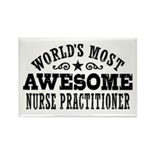 World's Most Awesome Nurse Practitioner Rectangle