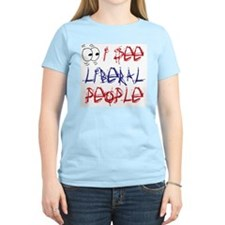 I See Liberal People 2 Women's Pink T-Shirt