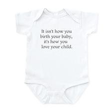 Love Your  Child Infant Bodysuit