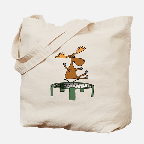 Cute Trampoline Tote Bag