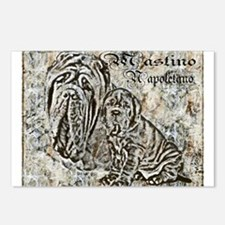 Mastino Sketches Postcards (Package of 8)