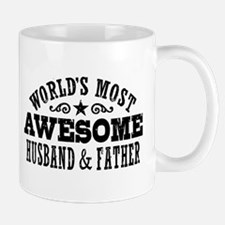 Awesome Husband And Father Mug