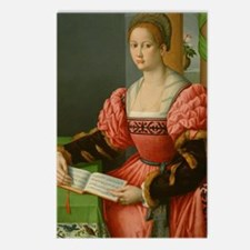 Portrait of a Woman with  Postcards (Package of 8)