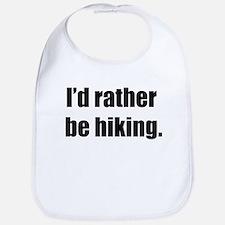 I'd Rather Be Hiking Bib
