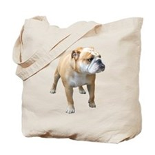 Cute Bulldog Tote Bag