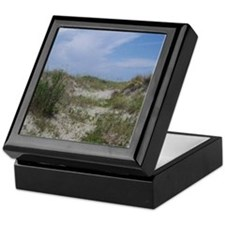 Sullivan's Island Sand Dunes II Keepsake Box