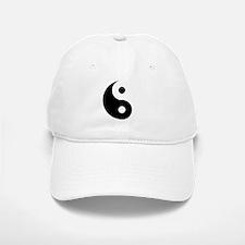 Yin & Yang (Traditional) Baseball Baseball Cap