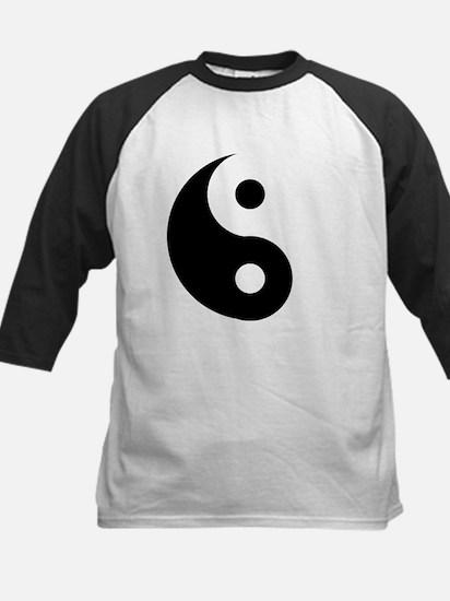 Yin & Yang (Traditional) Kids Baseball Jersey