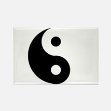 Yin & Yang (Traditional) Rectangle Magnet (10 pack