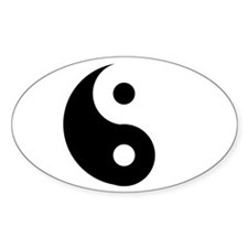 Yin & Yang (Traditional) Decal