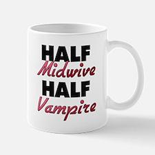 Half Midwive Half Vampire Mugs
