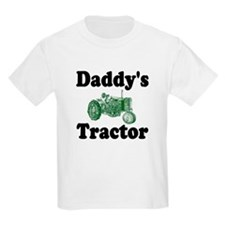 Daddy's Tractor Kids T-Shirt
