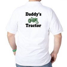 Daddy's Tractor Golf Shirt