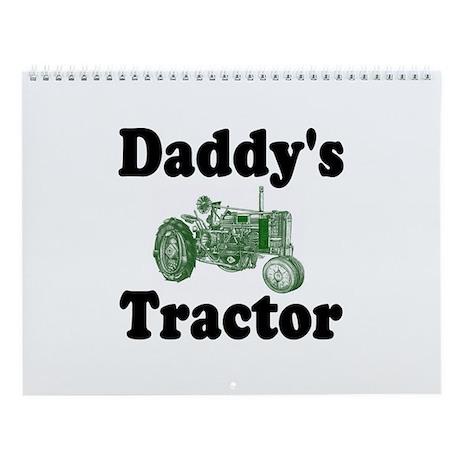 Daddy's Tractor Wall Calendar