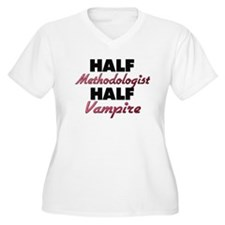 Half Methodologist Half Vampire Plus Size T-Shirt