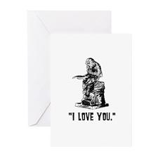 Wonderfalls Monkey Greeting Cards