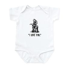 Unique Bronze Infant Bodysuit