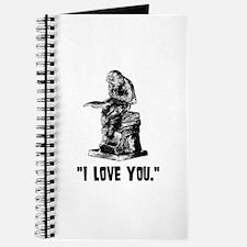 Cute I love monkeys Journal