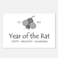 """""""Year of the Rat"""" [1984] Postcards (Package of 8)"""