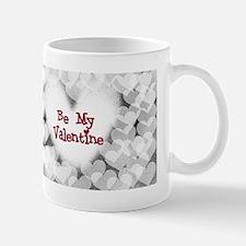 Hearts Be My Valentine Mug