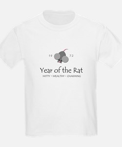 """Year of the Rat"" [1972] Kids T-Shirt"