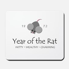 """Year of the Rat"" [1972] Mousepad"