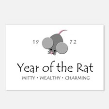"""""""Year of the Rat"""" [1972] Postcards (Package of 8)"""