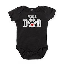 Beagle Dad Baby Bodysuit