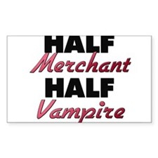 Half Merchant Half Vampire Decal