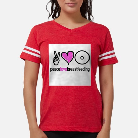 Peace, Love & Breastfeeding ( T-Shirt