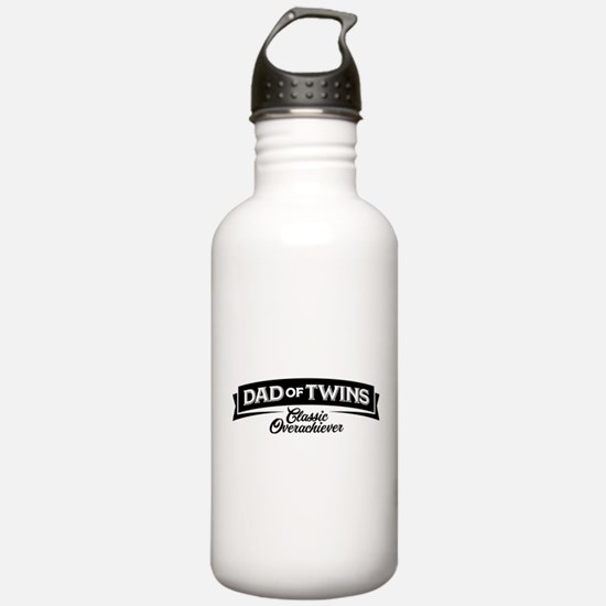 Dad of Twins Classic O Water Bottle