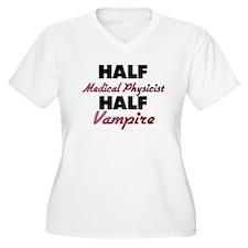 Half Medical Physicist Half Vampire Plus Size T-Sh