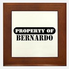 Property of Bernardo Framed Tile