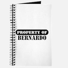 Property of Bernardo Journal