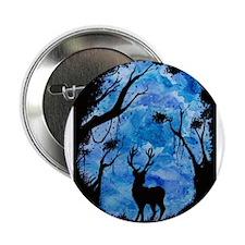 """Blue Deer 2.25"""" Button"""