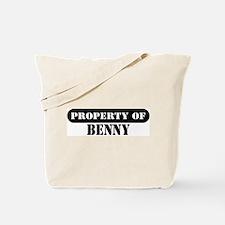 Property of Benny Tote Bag