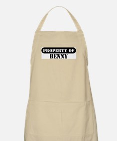Property of Benny BBQ Apron