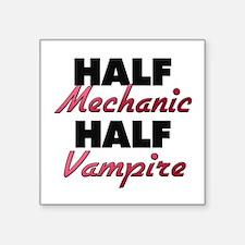 Half Mechanic Half Vampire Sticker