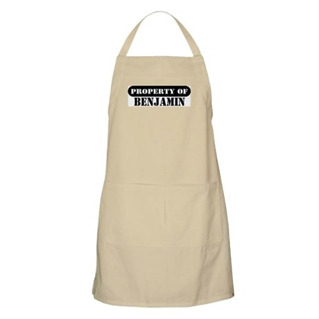 Property of Benjamin BBQ Apron