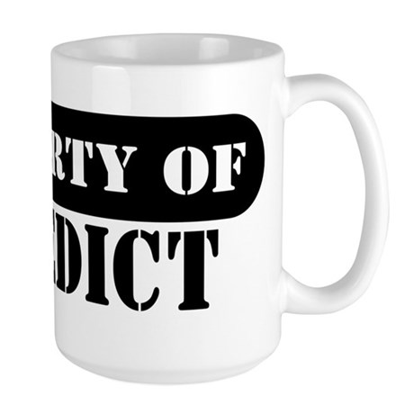 Property of Benedict Large Mug