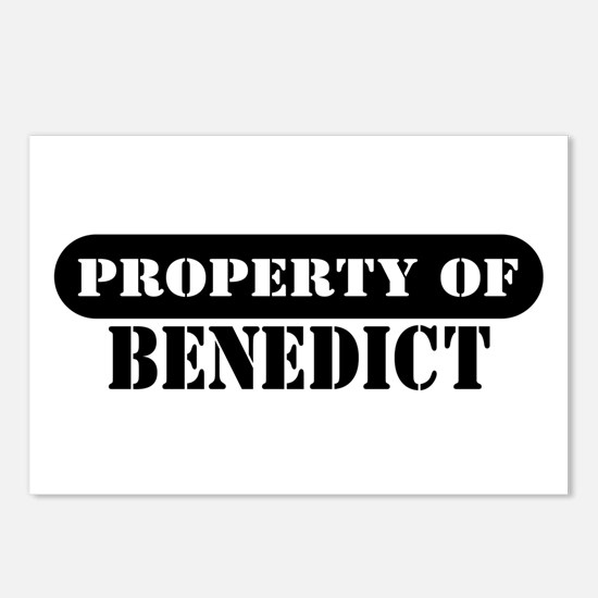 Property of Benedict Postcards (Package of 8)