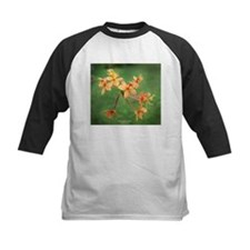 Orange Hawaiian orchid Tee