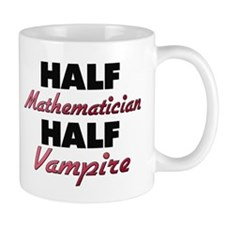 Half Mathematician Half Vampire Mugs
