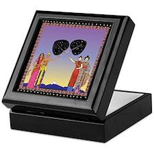 Eastern Goddesses Keepsake Box