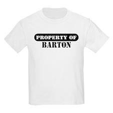 Property of Barton Kids T-Shirt