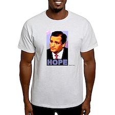 Ted Cruz, Hope, natural colors T-Shirt